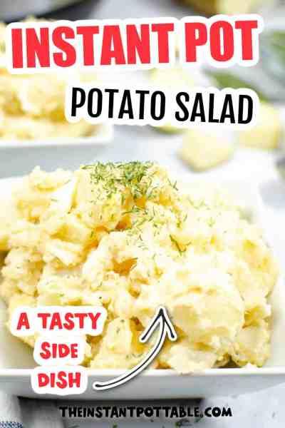 creamy instant pot potato salad