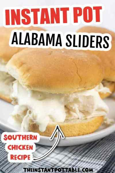 Southern chicken sliders