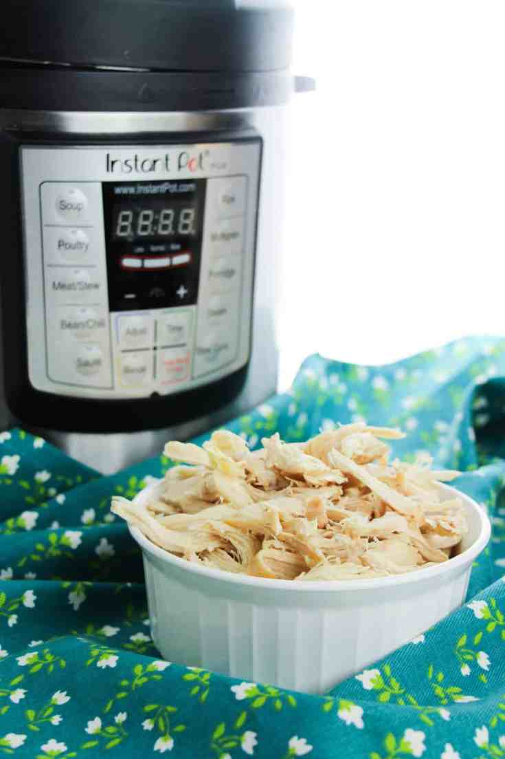 poached chicken in the instant pot