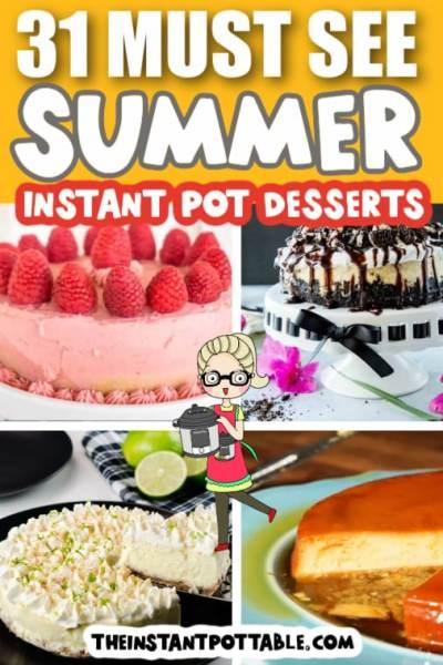 instant pot summer desserts