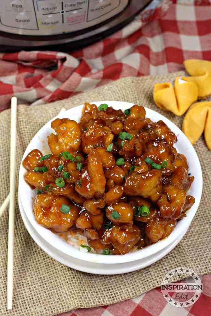 instant pot honey chicken