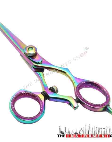 """5.5"""" Swivel Ring Barber Hairdressing Scissors Model 4"""