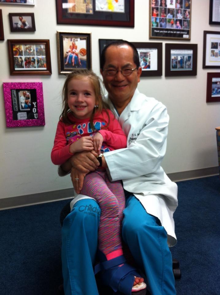 Cara and Dr Park