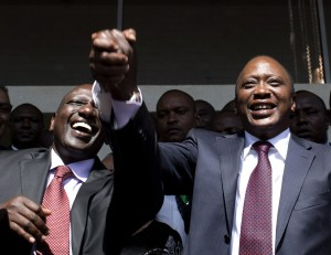 Uhuru and Friend Ruto