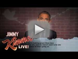 Obama Kimmel Live