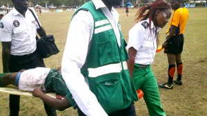 St Georges Rugby Player Injured