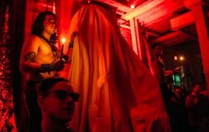 Satanic Statue unveiling