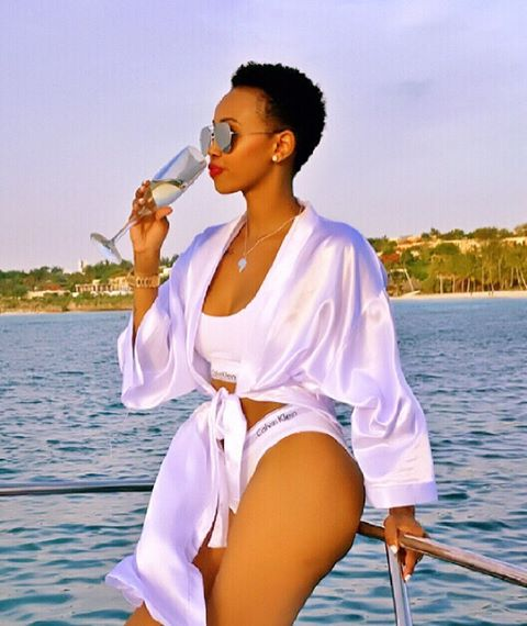 Huddah reveals she almost died getting plastic surgery