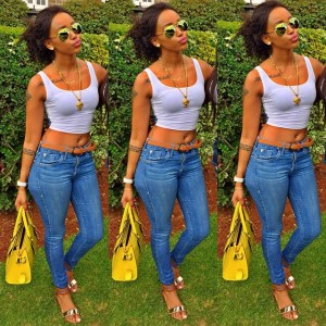 The evolution of Huddah Monroe