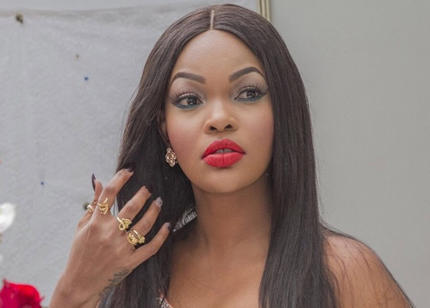 Wema stuns on the cover of True Love