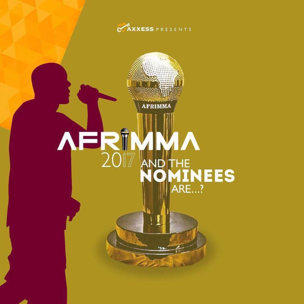 AFRIMMA Awards 2017 Nominees Full List