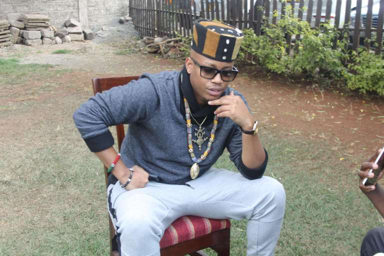 I'm taking Kenyan music international, King Kanja (Audio)