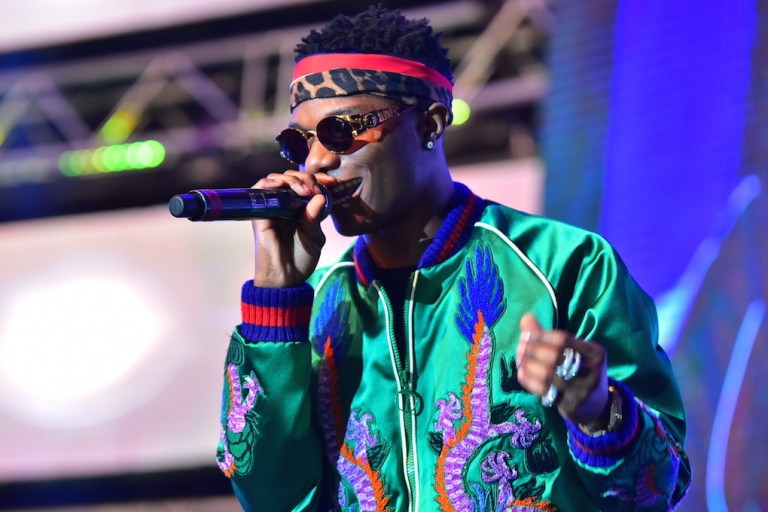Wizkid shuts down Nairobi! (Photos)