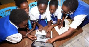 Kenyan High School girls heading to Google headquarters after developing App!
