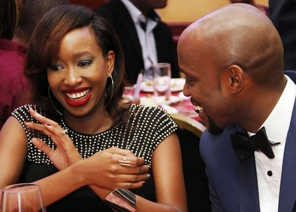 Janet Mbugua on why she didn't wear a bra on her wedding day!