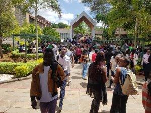 Daystar Uni's unusual boycott