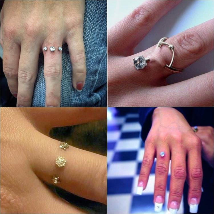 Is Piercing The Ring Finger The Coolest Way To Say Yes Of Late