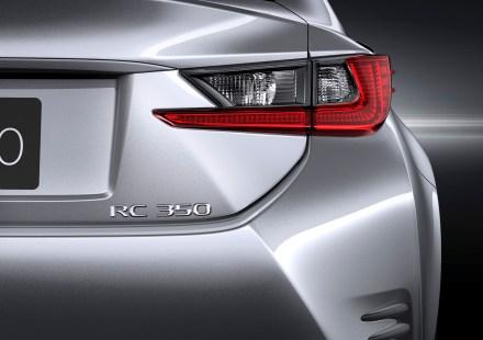 Lexus RC 350 Details