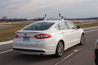 Automated Ford Fusion Hybrid