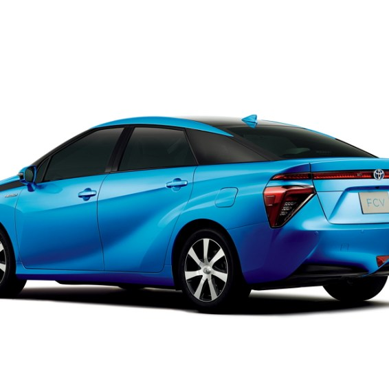Toyota Fuel Cell Rear