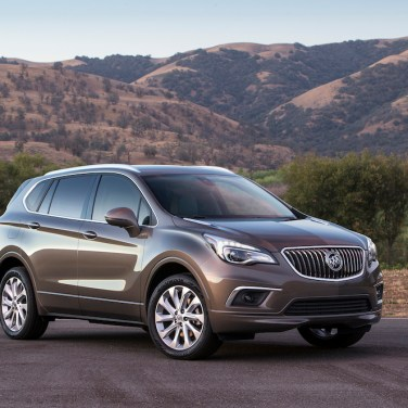 2016 Buick Envision Front 3/4