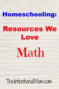 Curriculum We Love – Math