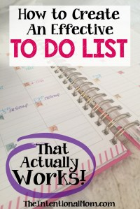 How to Create an Effective To-Do List That Actually Works
