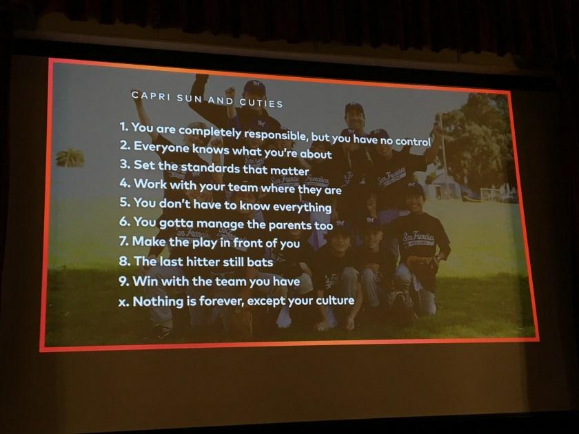 Albert Poon's 10 tips for management