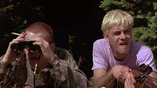 "Mark Renton and Sickboy from ""Trainspotting"": ""Beautifully fucking illustrated."""