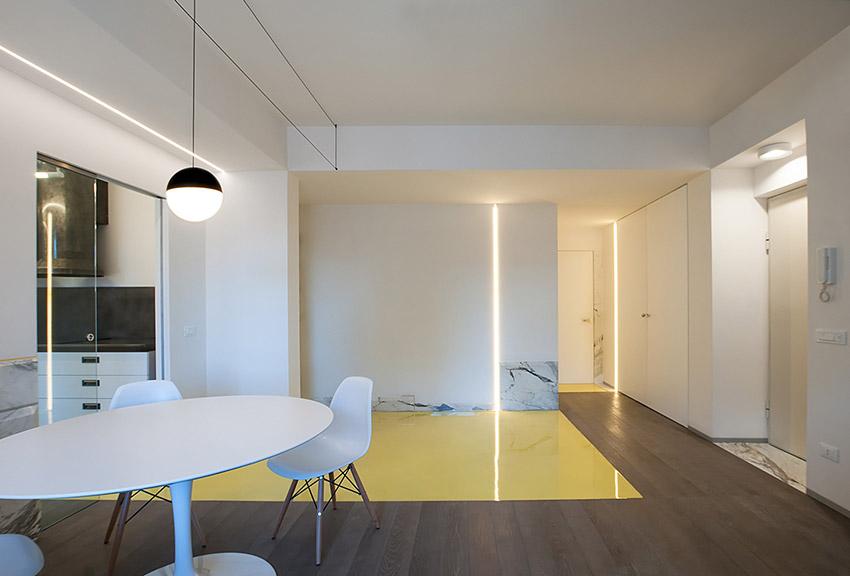 Il soggiorno dritte di illuminazione