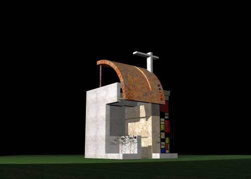 Proposta di progetto per unedicola funeraria privata di