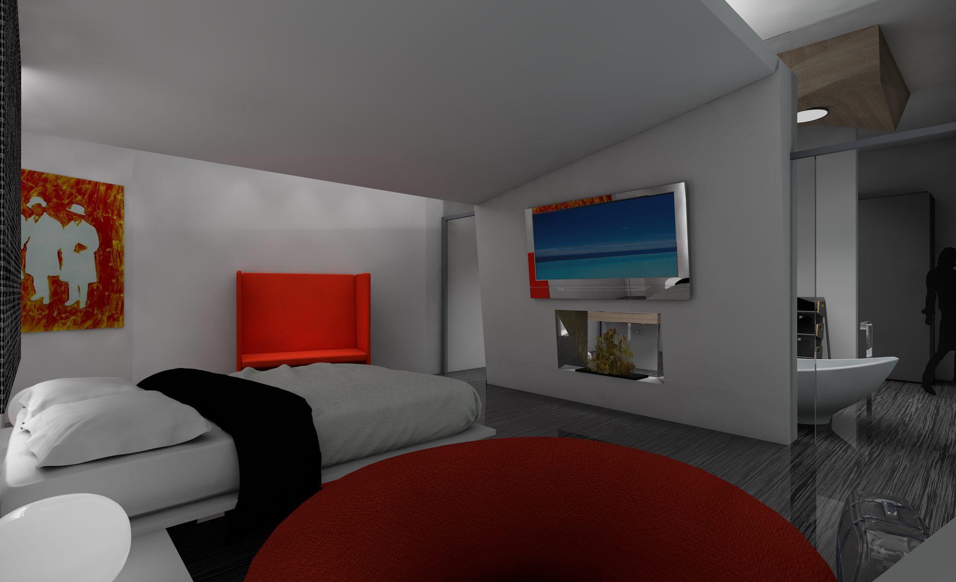 Arredamento casa idee e tendenze di arredamento  progetto arredamento camera Hotel