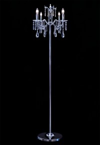 Chandelier Floor Lamp - Geneva