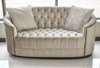 Tufted Sofa - Velvet Sofa - Luxury Sofa