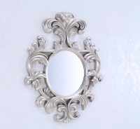 Decorative Wall Mirror - Large Wall Mirror - Geneve Silver