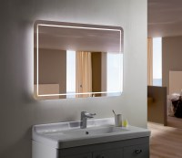 Backlit Bathroom Mirrors With Wonderful Styles In Uk ...