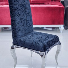Upholstered Arm Dining Chair Smarte Carte Massage Chairs Tricase Modern In Crushed Black Velvet