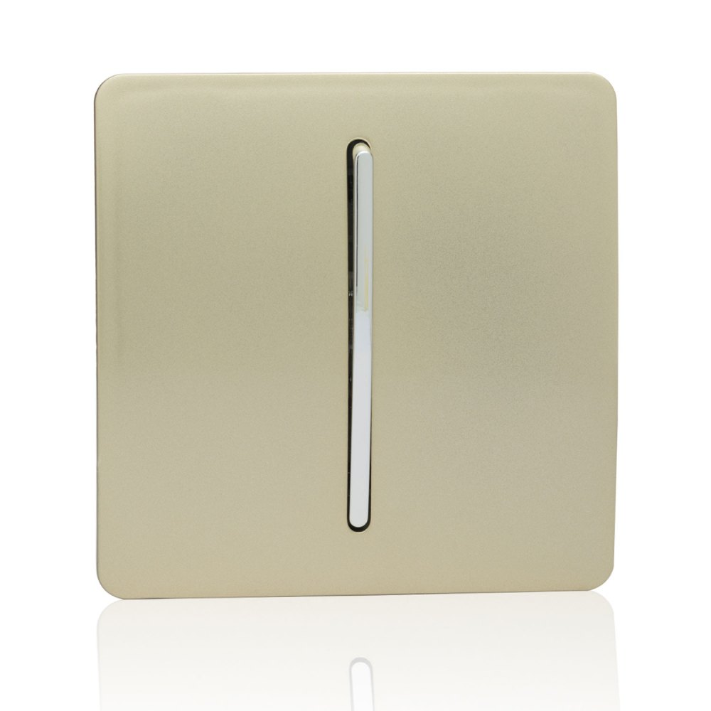 medium resolution of trendi 1 gang 3 way intermediate artistic modern glossy 10 amp rocker light switch champagne gold