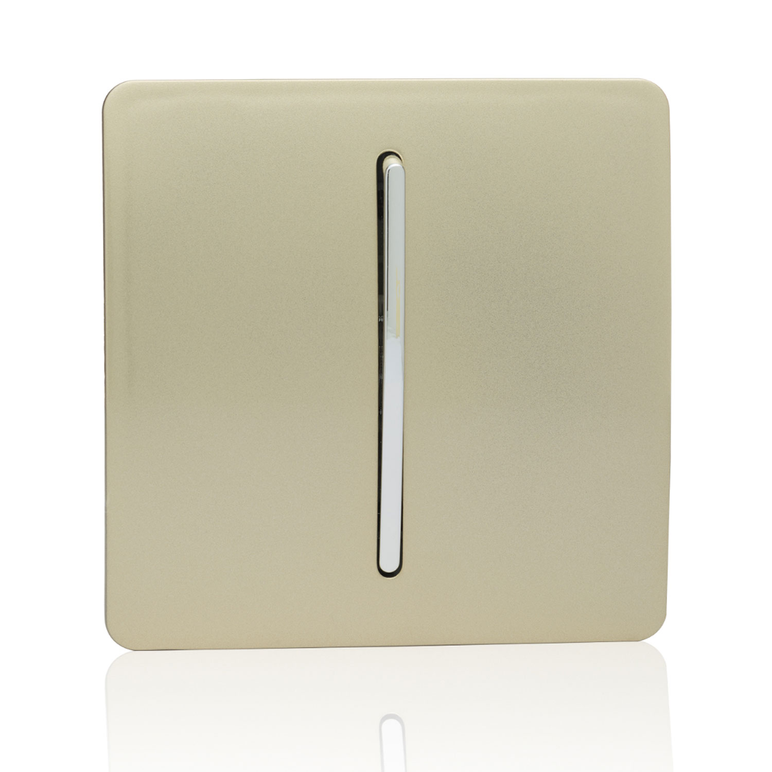 hight resolution of trendi 1 gang 3 way intermediate artistic modern glossy 10 amp rocker light switch champagne gold