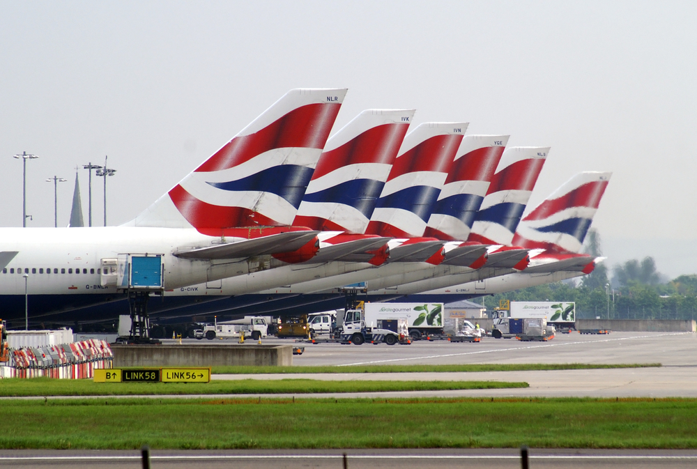 British Airways operating full flight schedule