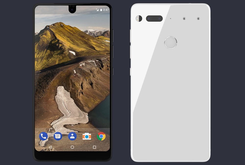The Essential PH-1 smartphone ships in 30 days