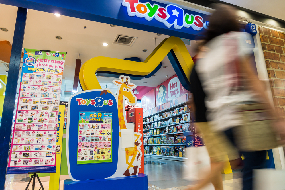 Gaming legend Toys 'R' Us files for bankruptcy