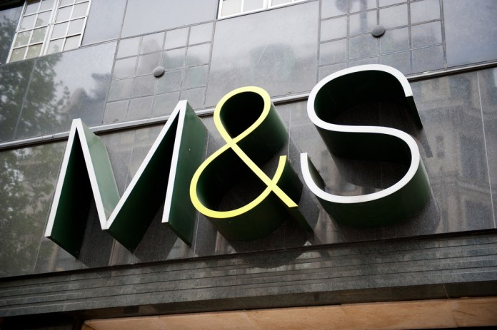 Marks and Spencer share price