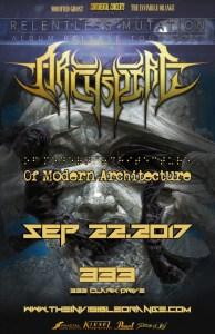 Archspire (Album Release) :: 333 Hall @ 333 | Vancouver | British Columbia | Canada