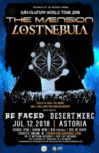 THE MAENSION / LOST NEBULA / Be Faced :: Astoria Pub @ Astoria Hastings | Vancouver | British Columbia | Canada