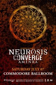 NEUROSIS / CONVERGE @ Commodore Ballroom | Vancouver | British Columbia | Canada