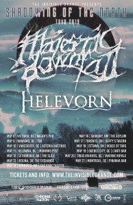 MAJESTIC DOWNFALL / HELEVORN :: CANADA TOUR 2019 @ CROSS CANADA TOUR