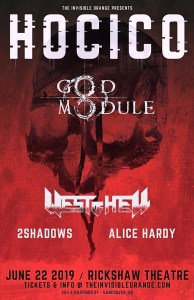 HOCICO | God Module | West of Hell (Vancouver) @ The Rickshaw Theatre