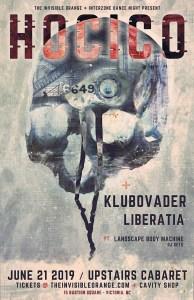 HOCICO | Klubovader | Liberatia (Victoria) @ Upstairs Cabaret