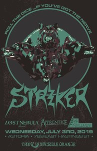 STRIKER | LOST NEBULA | Apprentice | Age of Entitlement (Vacouver) @ Astoria Hastings